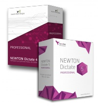 Upgrade z NEWTON Dictate 4 Professional na verzi NEWTON Dictate 5 Professional